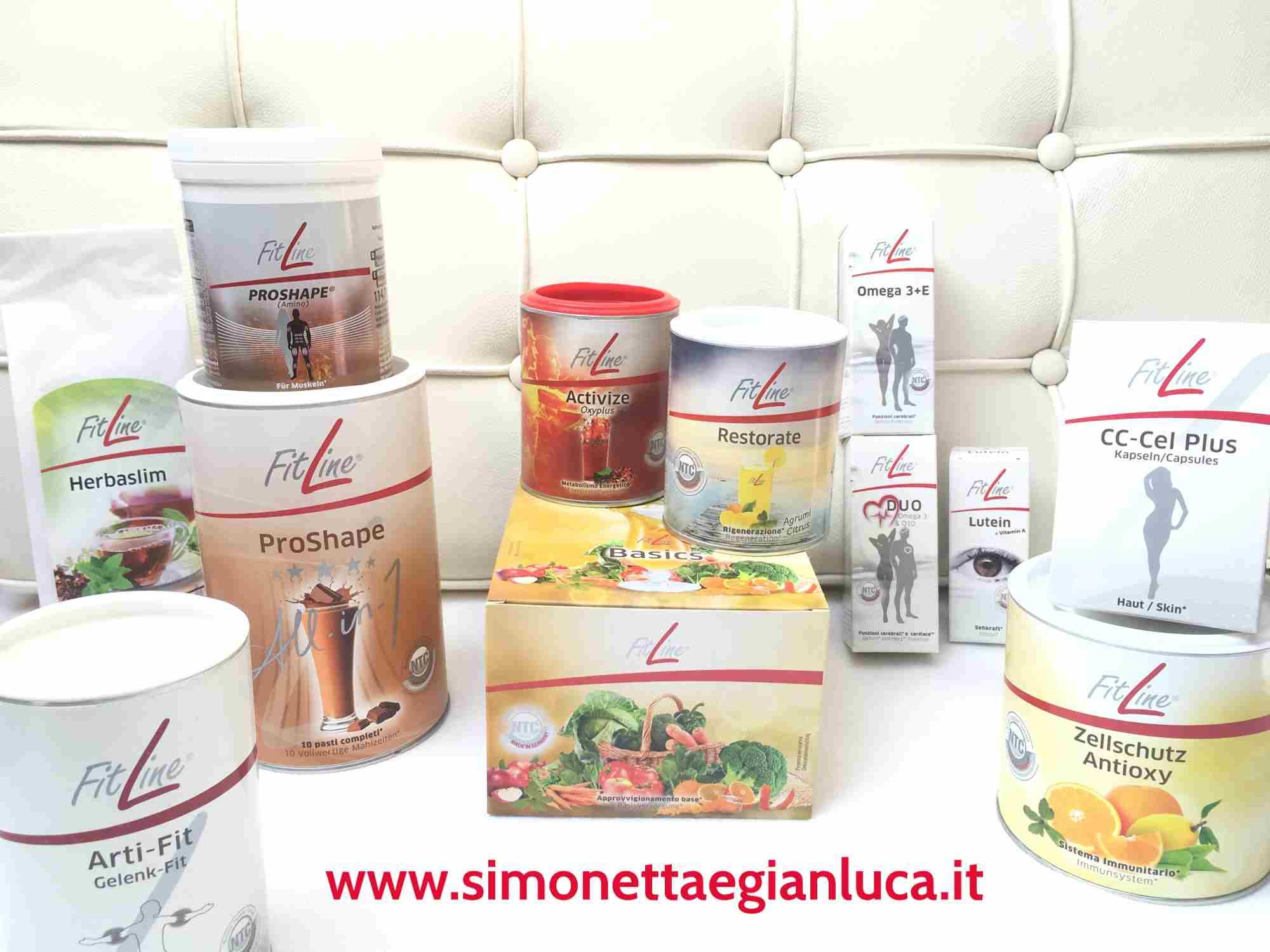 Prodotti FitLine Simonetta e Gianluca