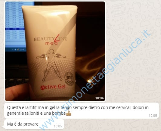 Beauty Line Med Active Gel Opinioni