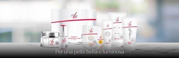 FitLine Skin e Med a Torino Simonetta Tortore e Gianluca Pegolo