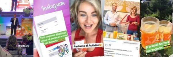 FitLine Instagram Simonetta e Gianluca